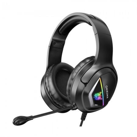 Casti gaming Onikuma X2 plus, Microfon Noise Cancelling