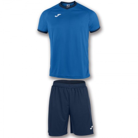 Echipament fotbal Joma Academy tricou si pantalon scurt