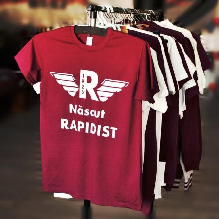 Tricou Rapid personalizat - Nascut Rapidist