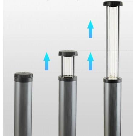 Lampa UV-C Profesionala cu sau fara Ozon, 150-200W, dezinfectie, sterilizare, pentru sala de sport, vestiare, scoli, gradinite, cluburi sportive, locuri de joaca, birouri, sala de clasa
