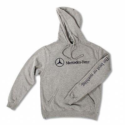 Hanorac Mercedes, gri, marimea XXL