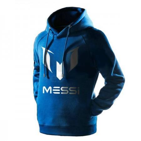 Hanorac Messi, albastru