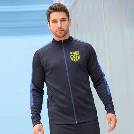 Trening Barcelona bleumarin