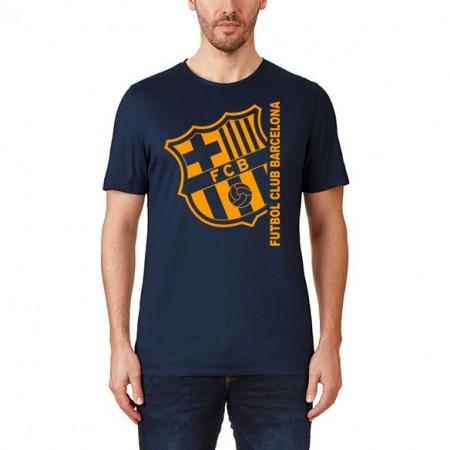 Tricou suporter Barcelona, bleumarin