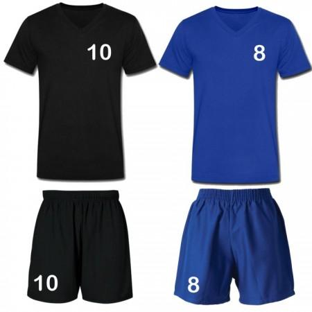 Echipament sport copii tricou si short poliester