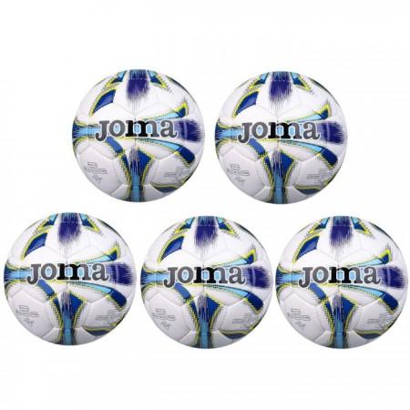 SET 5 mingi fotbal Joma Dali Blue, marimea 5