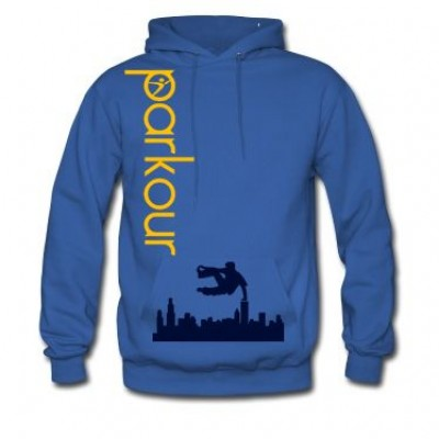 Hanorac Parkour albastru, marimea L