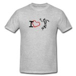 Tricou I Love Handbal W