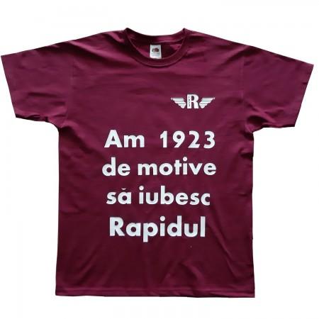 Tricou Rapid Bucuresti suporter 1923
