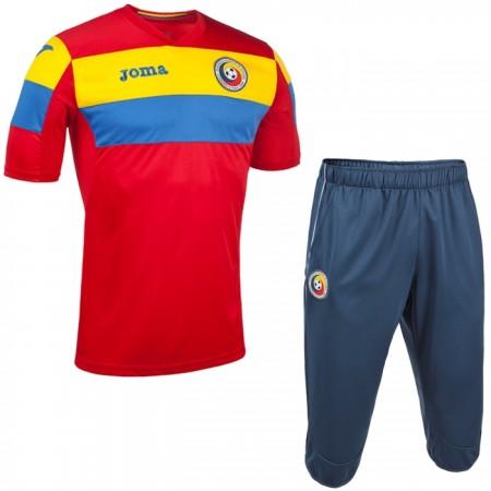Echipament copii Nationala fotbal Romania FRF antrenament
