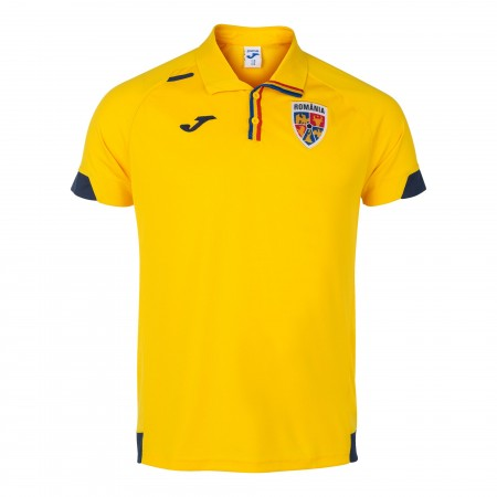 Tricou polo Nationala fotbal Romania galben