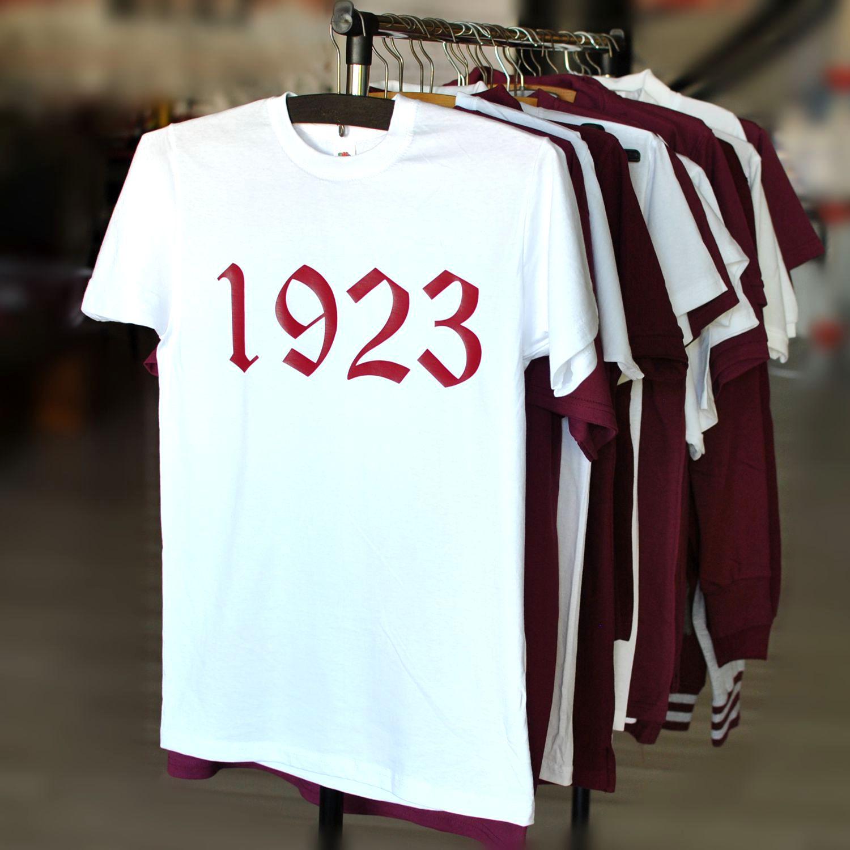 tricou rapid 1923 alb